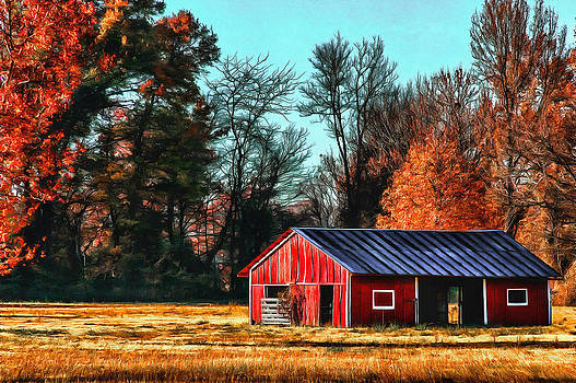 Red Barn by CarolLMiller Photography