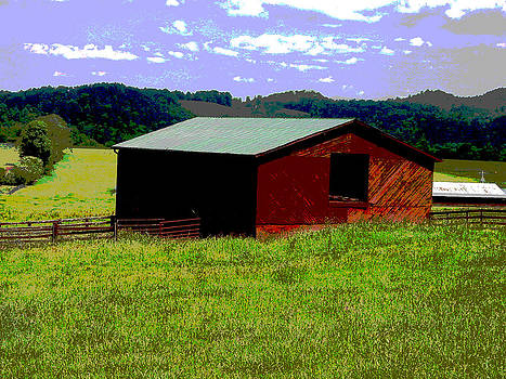 Red Barn Farm by Robert J Andler