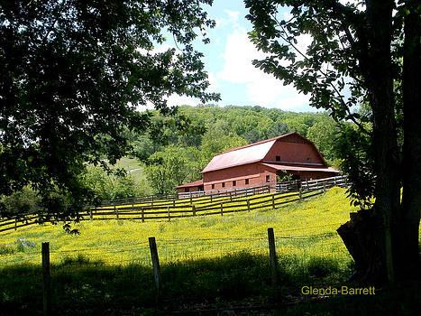 Red Barn by Glenda Barrett