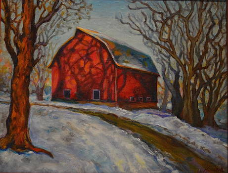 Red Barn by Karen McKean