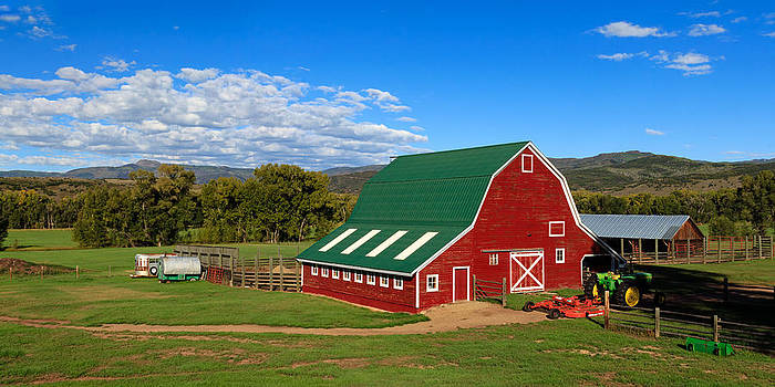 John McArthur - Red Barn Panorama 1