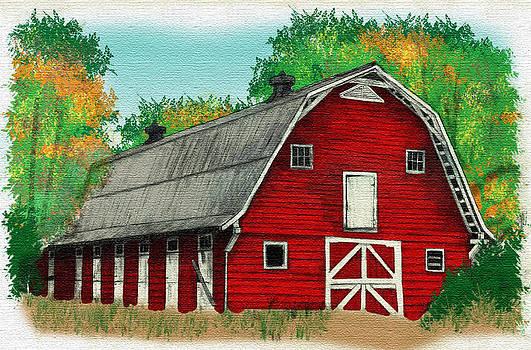 Regina  Williams  - Red Barn