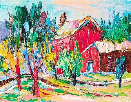Red Barn by Siang Hua Wang