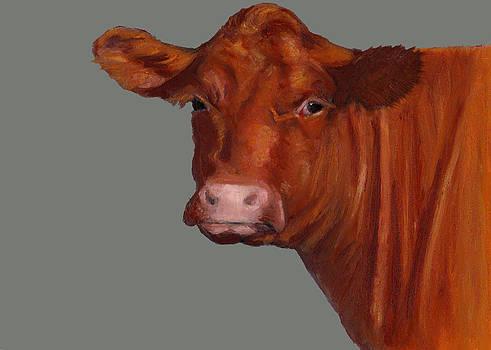 Joyce Geleynse - Red Beef Cow