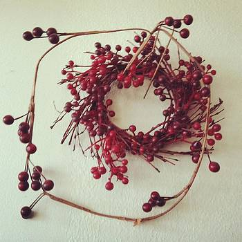 Red berry wreath by Lyn Pacific