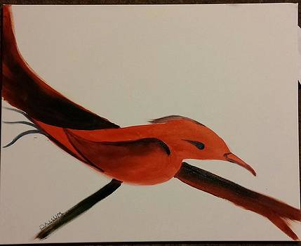 Red Bird by Gregory Dallum