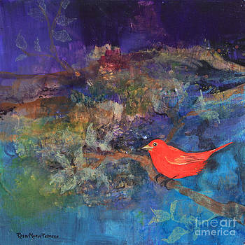 Red Bird by Robin Maria Pedrero