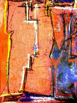 Red Blue by  art I FABRY