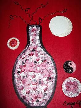 Red Blush by Edwina Sage Washington