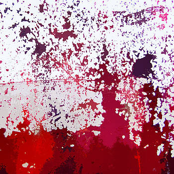 Art Block Collections - Red Boat Abstract