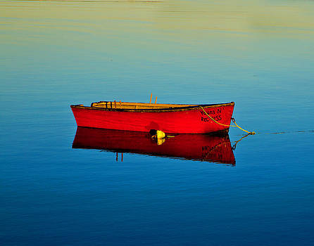 Red Boat by Allan MacDonald