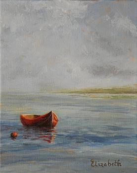 Red  Boat by Beth Maddox