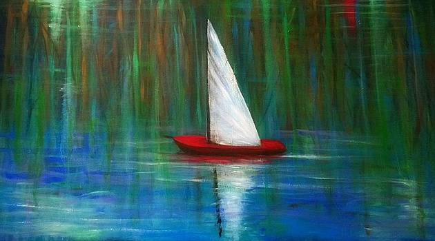 red boat I never had by Larry Palmer