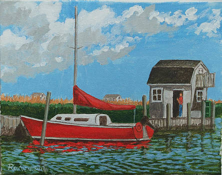 Red Boat by Reuven Gayle