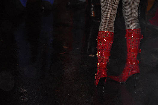 Red Boots by Donna Betancourt