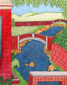 Red Bridges by Gregory Carrico