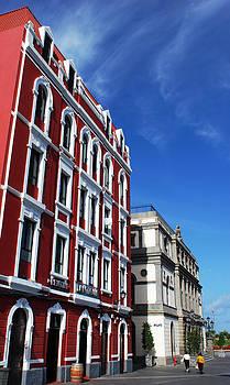 Ramunas Bruzas - Red Building