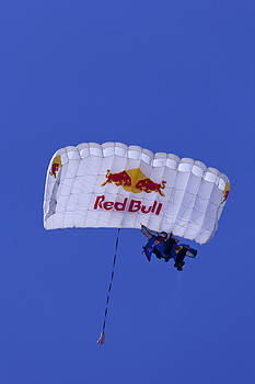 Donna Corless - Red Bull Parachute Jumper