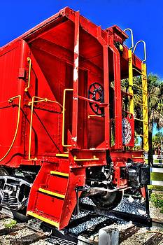 Red Caboose by Vanessa Parent