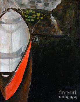 Red Canoe by Laurel Best