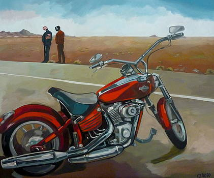 Red by Carmen Stanescu Kutzelnig