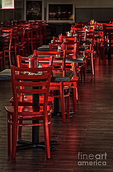 Red Chairs by Vicki DeVico