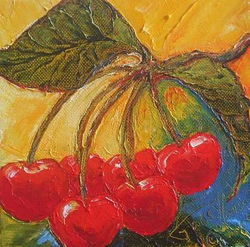 Red Cherries by Paris Wyatt Llanso