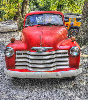 Dale Powell - Red Chevy Truck