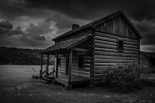 Red Clay Cabin by Richard Kook