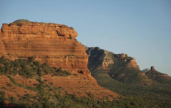 Red Cliffs by Kenneth Hadlock