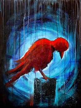 Red Crow by Renee Sarasvati