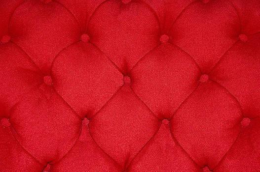 Red Cushion by Karin Hildebrand Lau