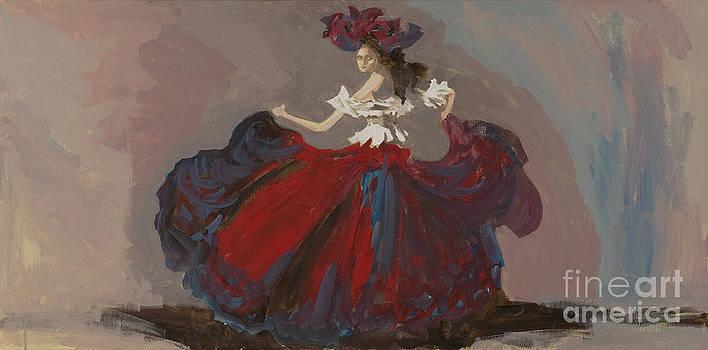 Red Dancer by Elizabeth Berg