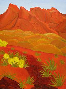 Red Desert by Ann Laase Bailey