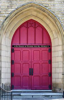 Red door by Daphne Duddleston