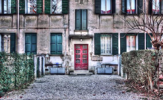 Red Door by Davide Camponeschi