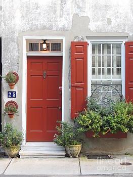 Red Door by Diane Greco-Lesser