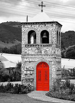 Red door by Ivan SABO
