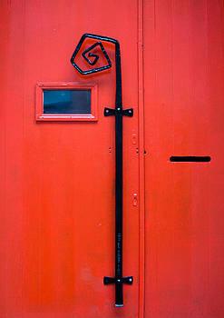 Red Door by Pedro Nunez