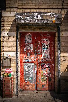 Red Door by Peter Verdnik