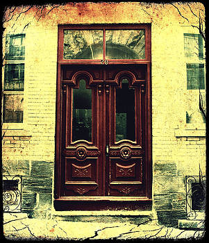 Laura Carter - Red Doorway Gothic Photograph