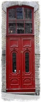 Laura Carter - Red Doorway Photograph Print