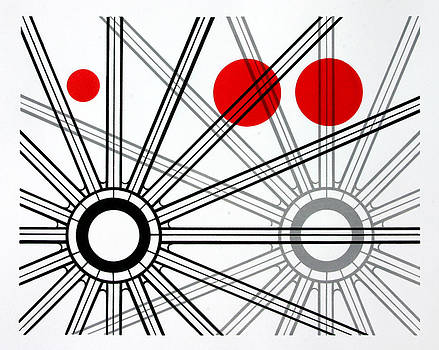 Red Dot Geometry by Scott Shaver