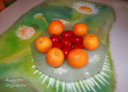 Augusta Stylianou - Red Eggs And Oranges