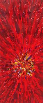 Red Explosion 14-37 by Patrick OLeary