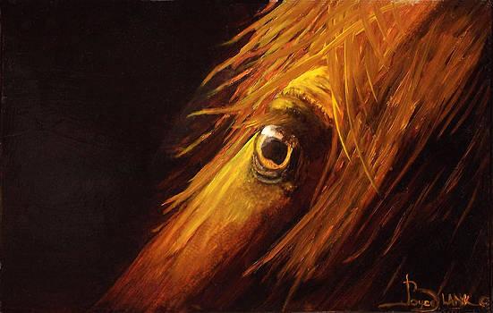Red Eye Special by Joyce Blank