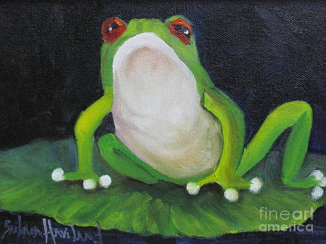 REd Eyed Green Frog by Barbara Haviland