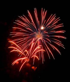 Devinder Sangha - Red Fireworks