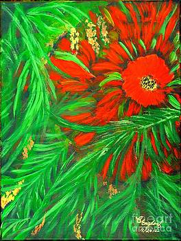Red Flower of the Tropics by Betty and Kathy Engdorf and Bosarge