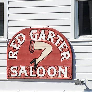 Ian Monk - Red Garter Key West - Square